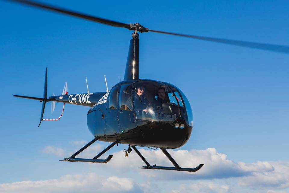 SKY Helicopters At The Fraser Valley Event Show October